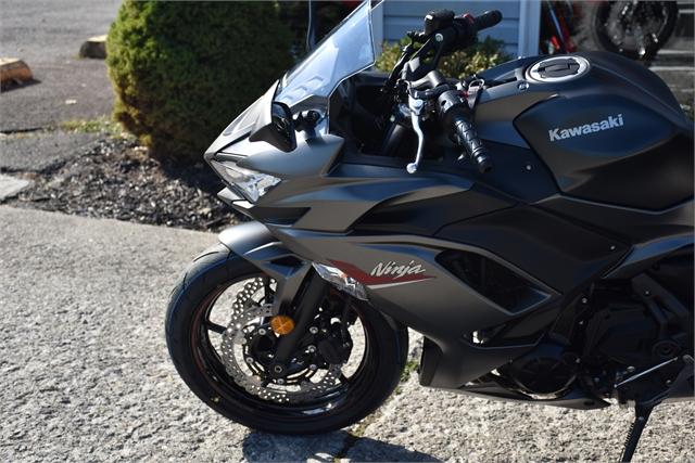 2022 Kawasaki Ninja 650 Base at Thornton's Motorcycle - Versailles, IN
