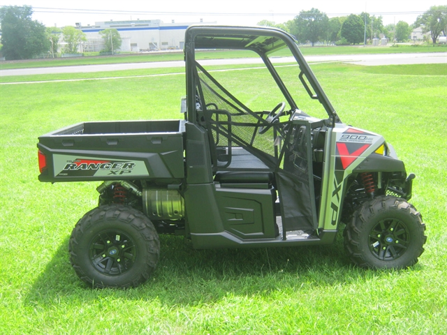 2019 Polaris Ranger XP 900 EPS Silver Pearl EPS at Brenny's Motorcycle Clinic, Bettendorf, IA 52722