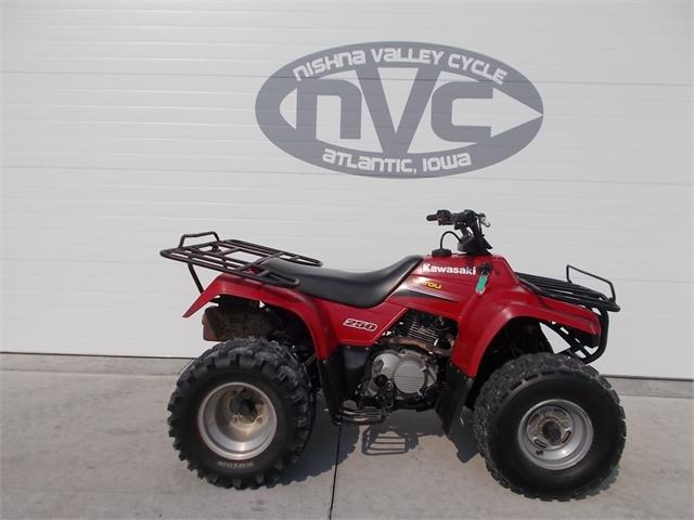 2005 Kawasaki Bayou 250 at Nishna Valley Cycle, Atlantic, IA 50022