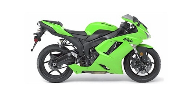 2007 Kawasaki Ninja ZX-6R at Hebeler Sales & Service, Lockport, NY 14094
