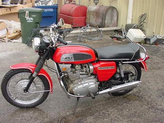 1970 BSA Rocket III at Brenny's Motorcycle Clinic, Bettendorf, IA 52722