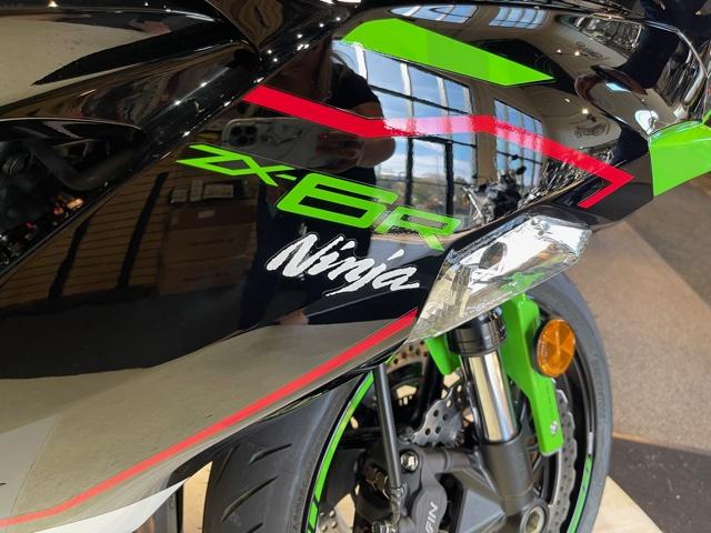 2021 Kawasaki Ninja ZX-6R ABS KRT Edition at Martin Moto