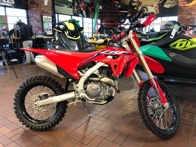 2021 Honda CRF 450RX at Wild West Motoplex