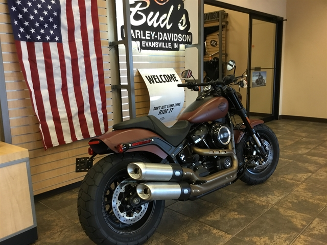 2018 Harley-Davidson Softail Fat Bob at Bud's Harley-Davidson, Evansville, IN 47715