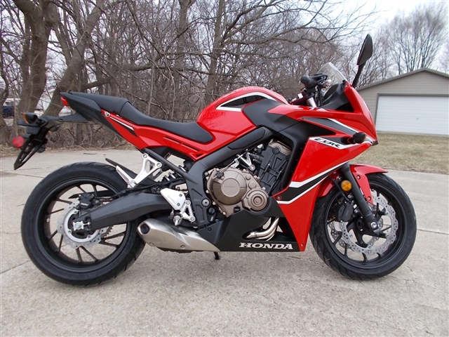 2018 Honda CBR650F Base at Nishna Valley Cycle, Atlantic, IA 50022