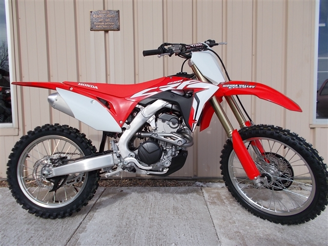2018 Honda CRF250R 250R at Nishna Valley Cycle, Atlantic, IA 50022