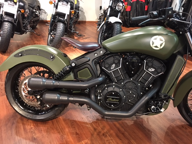 2016 Indian Scout Sixty at Lynnwood Motoplex, Lynnwood, WA 98037