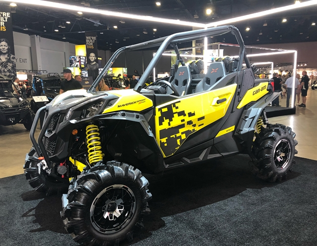 2019 Can-Am Maverick Sport 1000R X mr at Jacksonville Powersports, Jacksonville, FL 32225