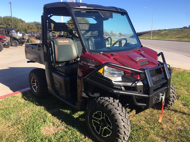 2017 Polaris Ranger XP 1000 EPS Ranch Edition at Kent Motorsports, New Braunfels, TX 78130