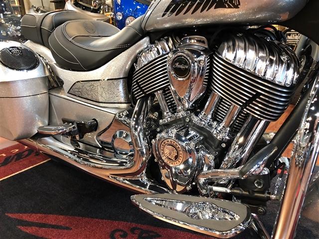 2018 Indian Chieftain Elite at Lynnwood Motoplex, Lynnwood, WA 98037