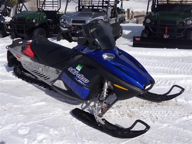 2007 Ski-Doo Summit Adrenaline 144 600 HO SDI $101/month at Power World Sports, Granby, CO 80446