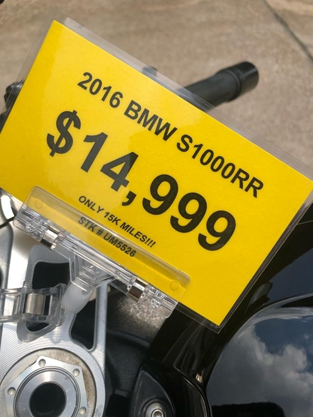 2016 BMW S 1000 RR at Wild West Motoplex