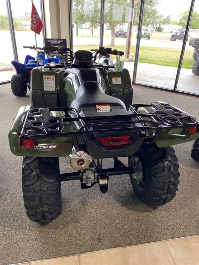 2021 Honda FourTrax Rancher Base at Dale's Fun Center, Victoria, TX 77904