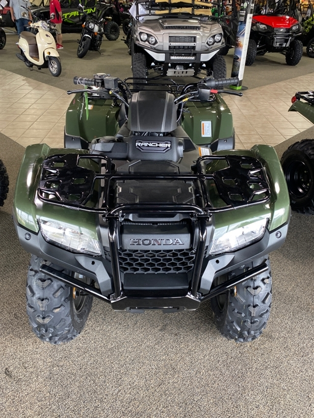 2021 Honda FourTrax Rancher Base at Dale's Fun Center, Victoria, TX 77904