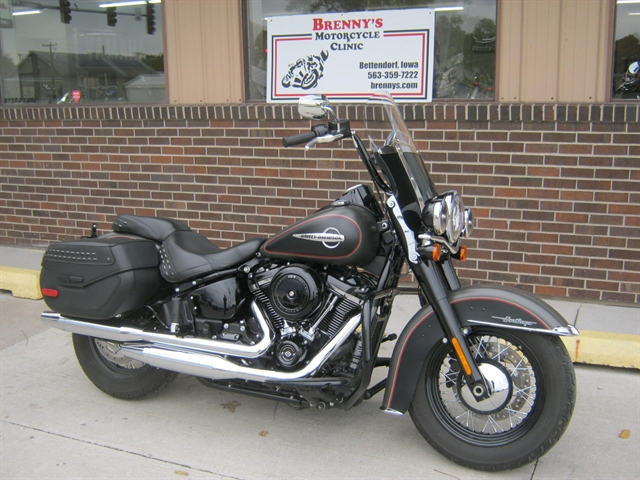 2018 Harley-Davidson FLHC Heritage Softail Classic at Brenny's Motorcycle Clinic, Bettendorf, IA 52722