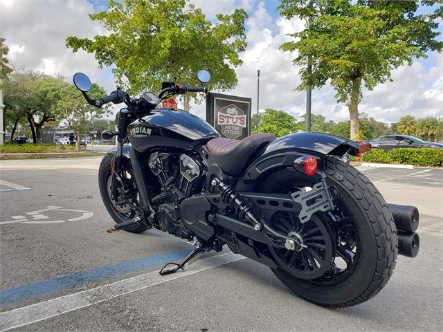 2021 Indian SCOUT BOBBER THNDR BLK 49ST at Fort Lauderdale
