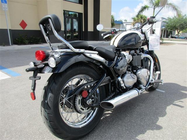 2018 Triumph Bonneville Speedmaster Fusion White / Phantom Black at Stu's Motorcycles, Fort Myers, FL 33912
