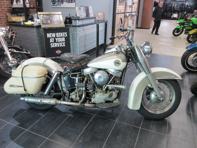 1958 Harley-Davidson FLH at Garden State Harley-Davidson