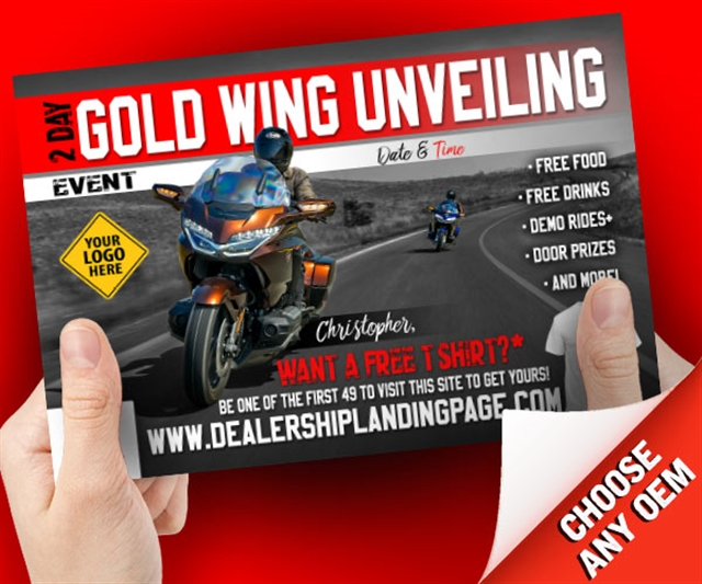 Gold Wing Unveiling Powersports at PSM Marketing - Peachtree City, GA 30269