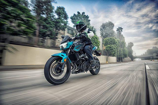 2021 Kawasaki Z400 ABS at Extreme Powersports Inc