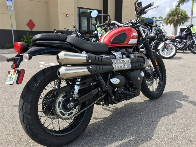 2017 Triumph Street Scrambler Base at Fort Myers