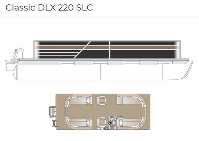 2022 Crest Classic DLX 220 SLC at Fort Fremont Marine