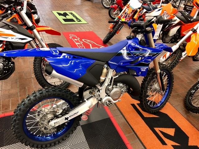 2021 Yamaha YZ 125X at Wild West Motoplex