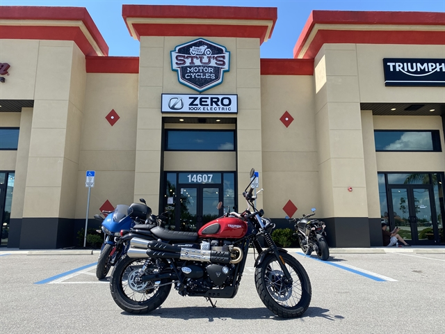 2020 Triumph Street Scrambler Base at Fort Myers