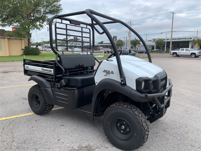 2020 Kawasaki Mule SX FI 4x4 SE at Jacksonville Powersports, Jacksonville, FL 32225