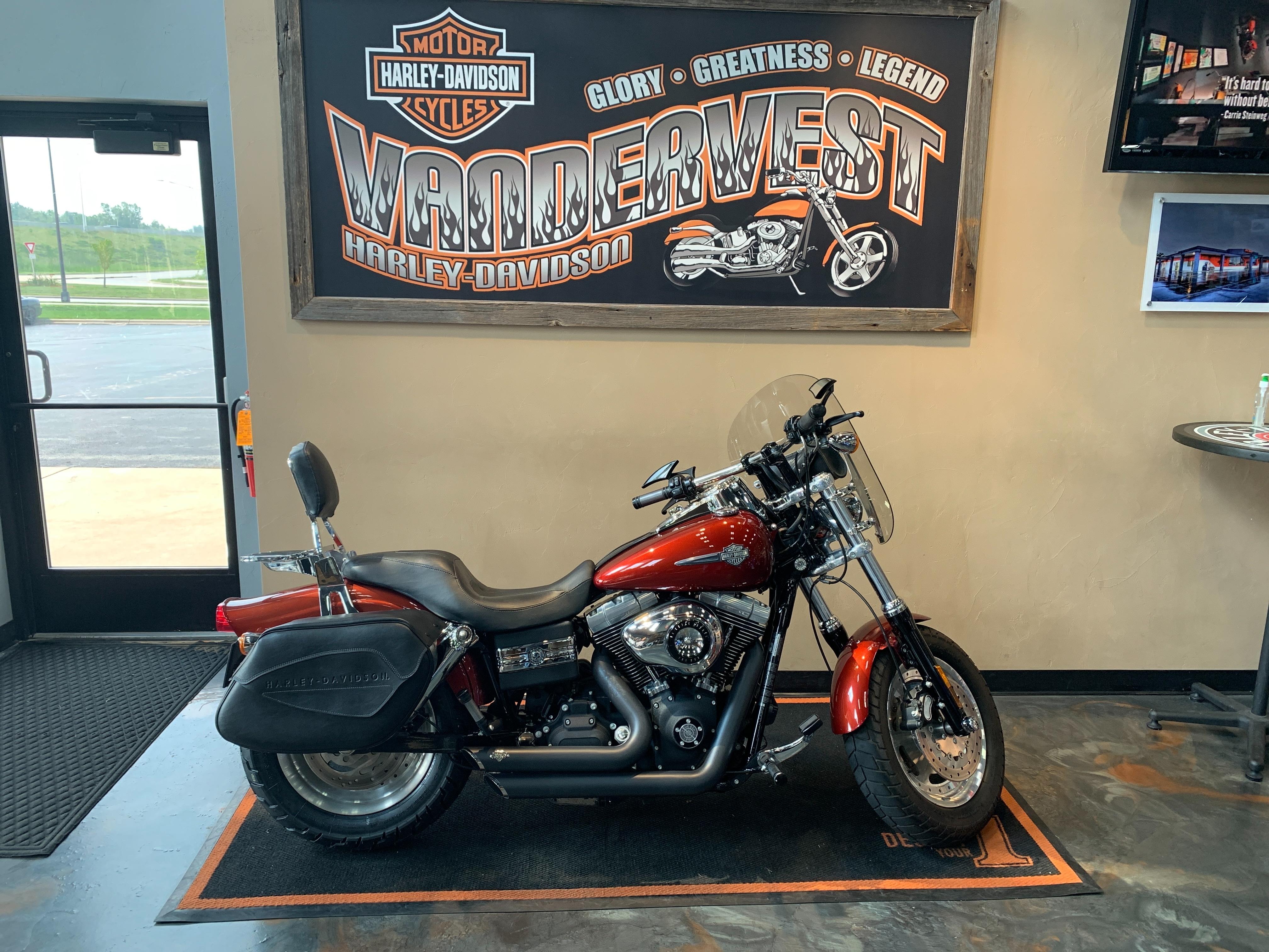 2009 Harley-Davidson Dyna Glide Fat Bob at Vandervest Harley-Davidson, Green Bay, WI 54303