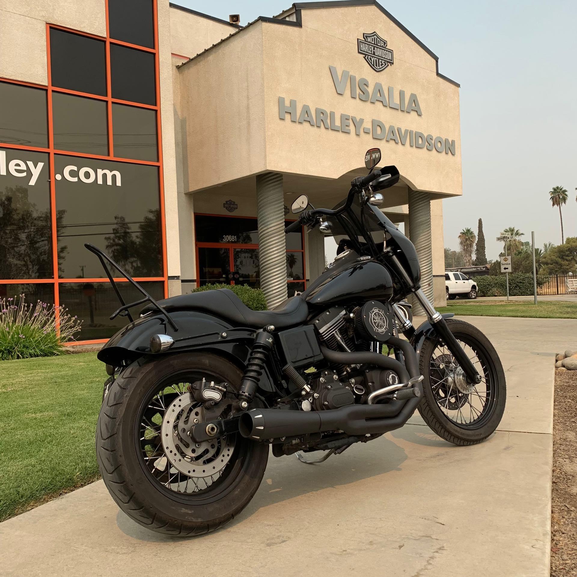 2015 Harley-Davidson Dyna Street Bob at Visalia Harley-Davidson