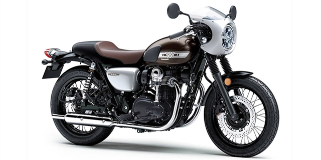 2019 Kawasaki W800 Cafe at Hebeler Sales & Service, Lockport, NY 14094