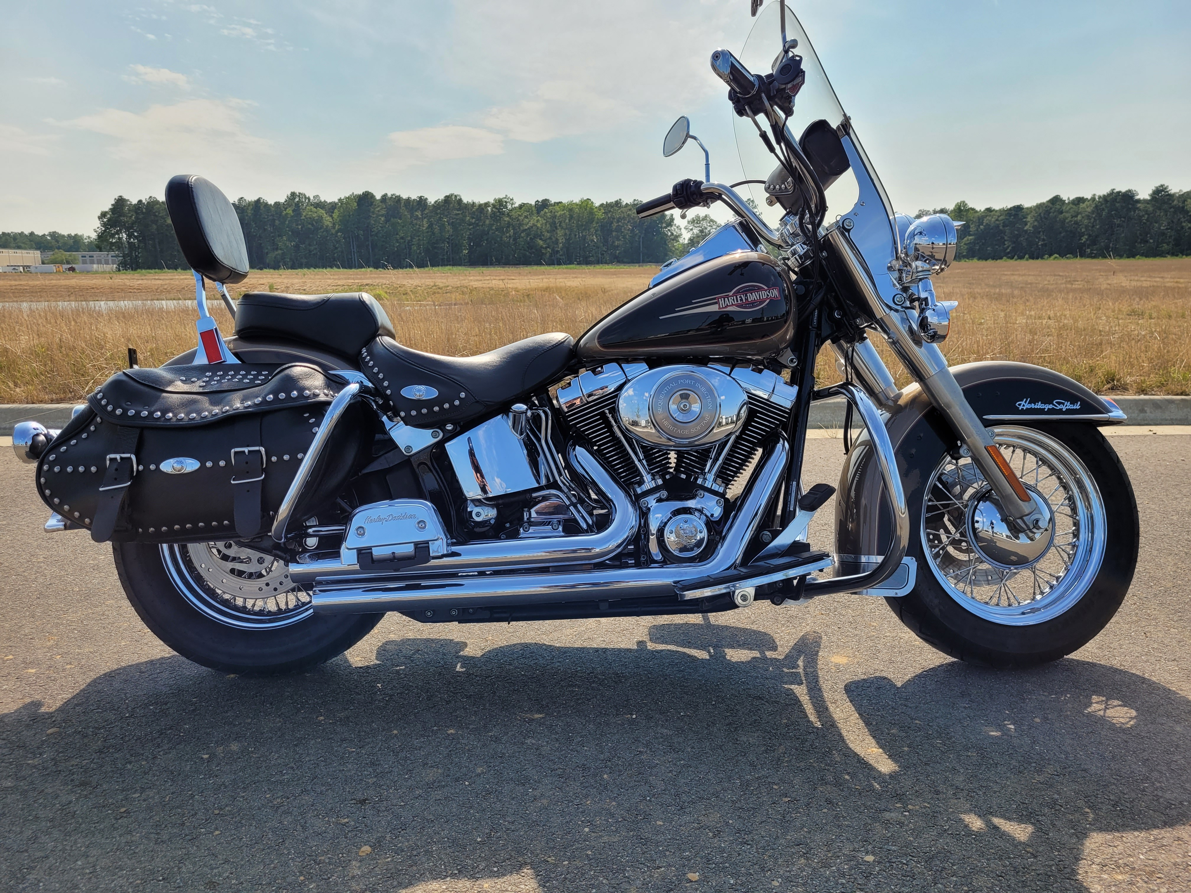 2005 Harley-Davidson Softail Heritage Softail Classic at Richmond Harley-Davidson