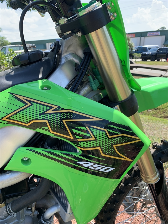 2021 Kawasaki KX KX450 at Powersports St. Augustine