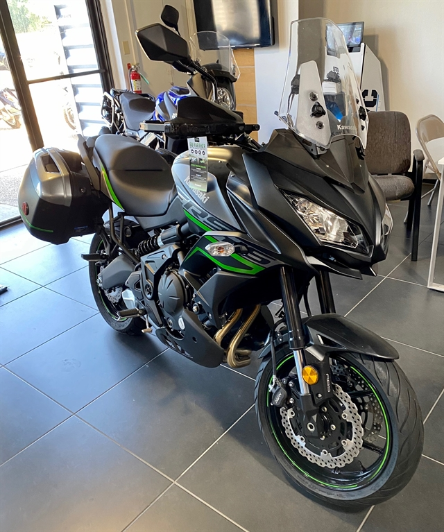 2019 KAWASAKI KLE650FKFAX 650 LT at Shreveport Cycles