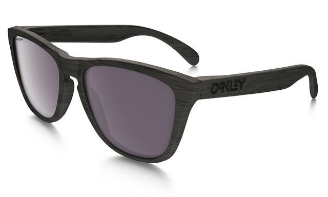 2018 Oakley Frogskins Woodgrain w/ Prizm Daily Polarized at Harsh Outdoors, Eaton, CO 80615