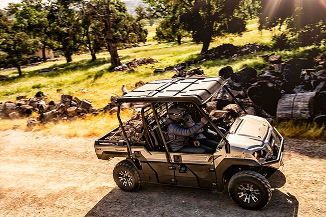 2021 Kawasaki Mule PRO-FXT Ranch Edition at Kawasaki Yamaha of Reno, Reno, NV 89502