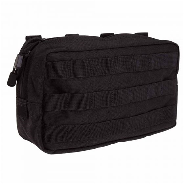2019 5.11 Tactical 10 x 6 Horizontal Pouch Black at Harsh Outdoors, Eaton, CO 80615