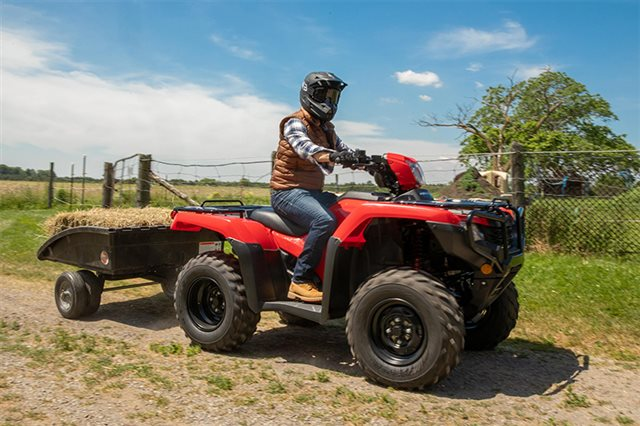 2021 Honda FourTrax Foreman 4x4 at Wild West Motoplex