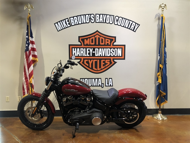 2020 Harley-Davidson Softail Street Bob at Mike Bruno's Bayou Country Harley-Davidson
