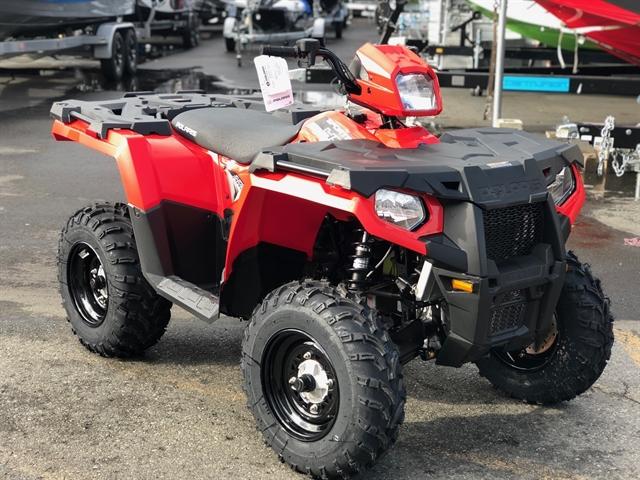 2019 Polaris Sportsman 450 HO EPS LE at Lynnwood Motoplex, Lynnwood, WA 98037