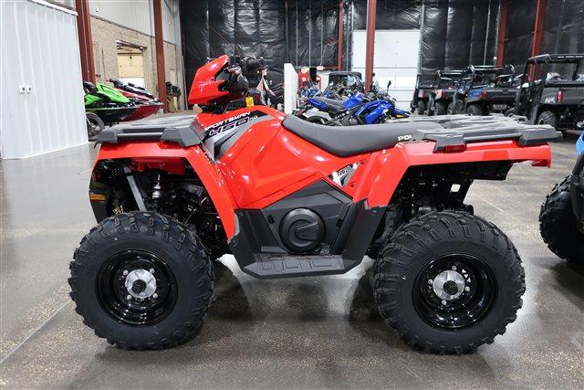 2019 Polaris Sportsman 450 HO Utility Edition at Rod's Ride On Powersports, La Crosse, WI 54601