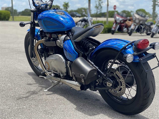 2017 Triumph Bonneville Bobber Base at Fort Myers