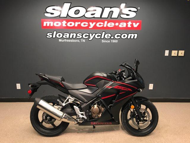 2018 Honda CBR300R Base at Sloan's Motorcycle, Murfreesboro, TN, 37129