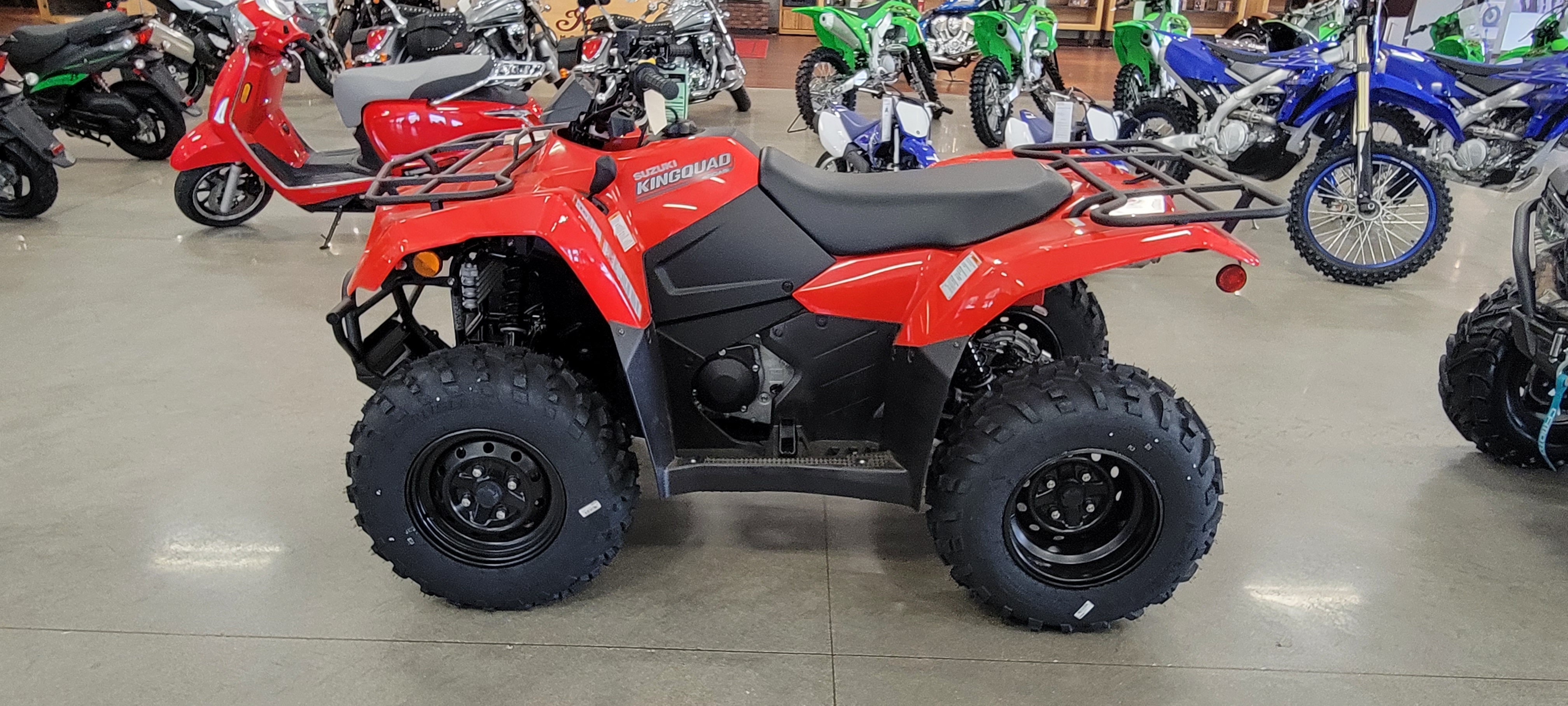 2022 Suzuki KingQuad 400 ASi at Brenny's Motorcycle Clinic, Bettendorf, IA 52722