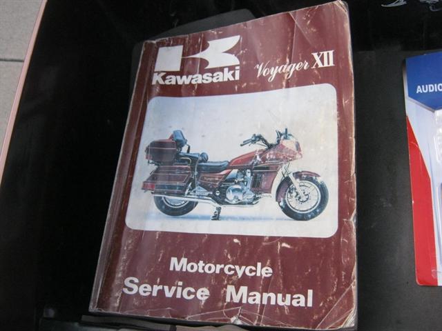 1986 Kawasaki ZG1200 Voyager at Brenny's Motorcycle Clinic, Bettendorf, IA 52722