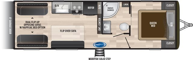 2019 Keystone RV Hideout 25TH Toy Hauler at Campers RV Center, Shreveport, LA 71129