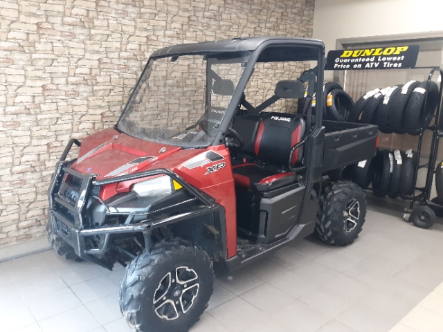 2015 Polaris Ranger XP 900 EPS Sunset Red at Waukon Power Sports, Waukon, IA 52172