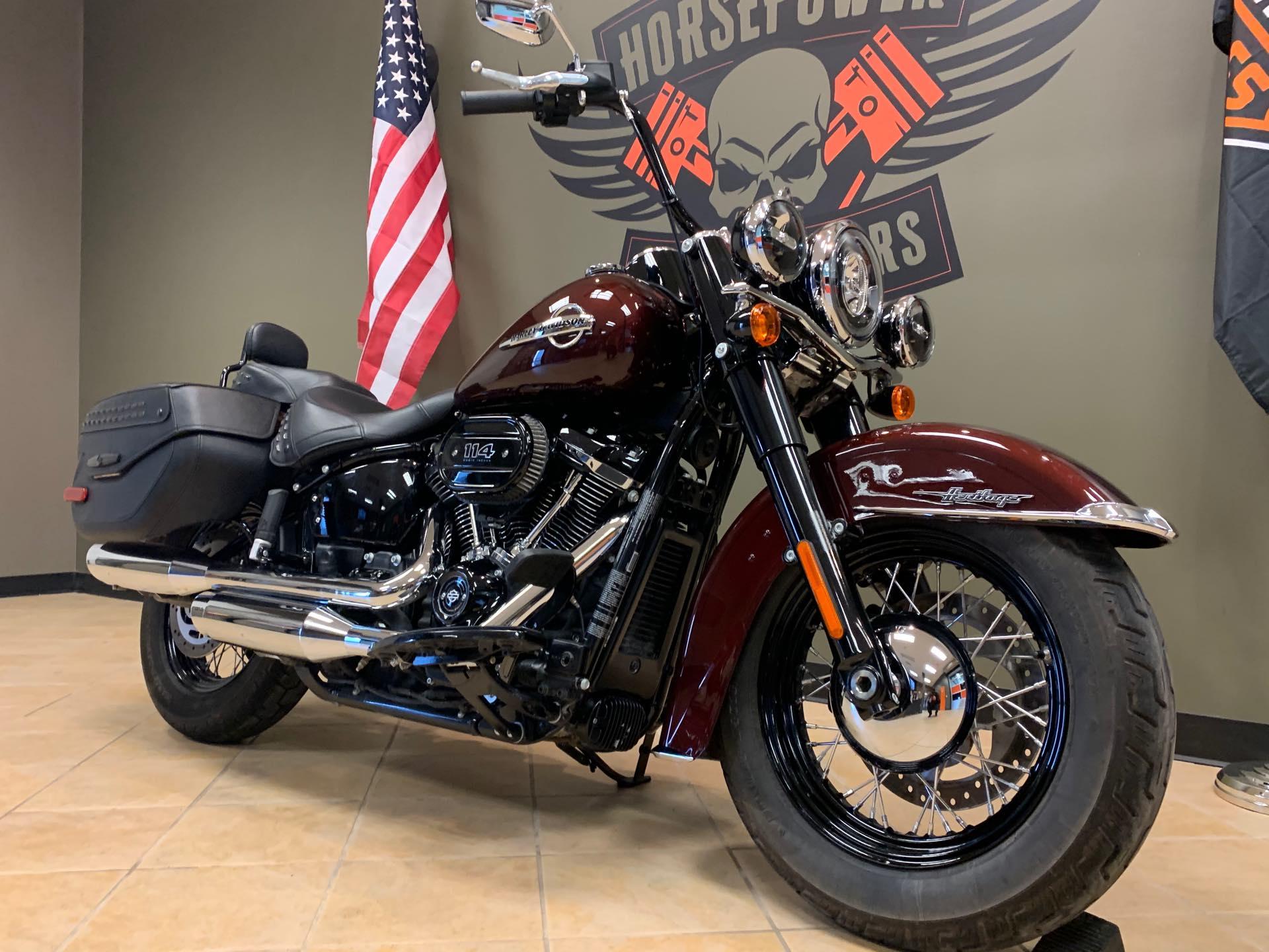 2018 Harley-Davidson Softail Heritage Classic 114 at Loess Hills Harley-Davidson