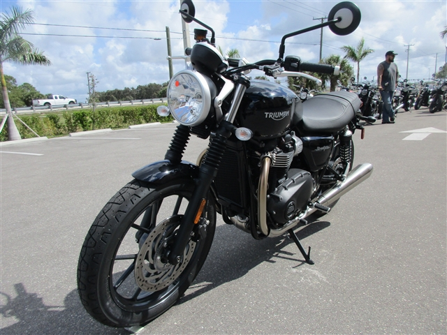 2019 Triumph Street Twin Standard at Stu's Motorcycles, Fort Myers, FL 33912